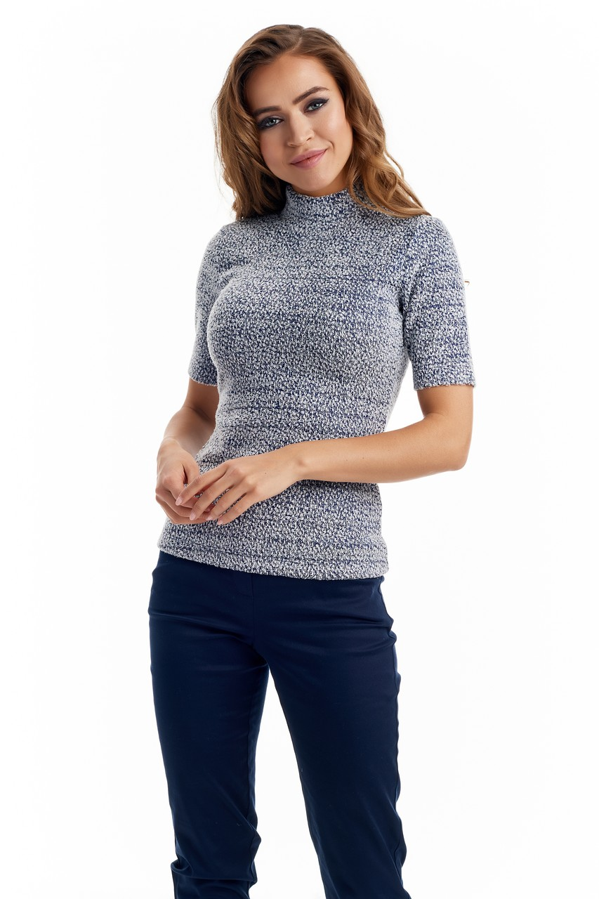 Красивая женская блузка LalaStyle W08040