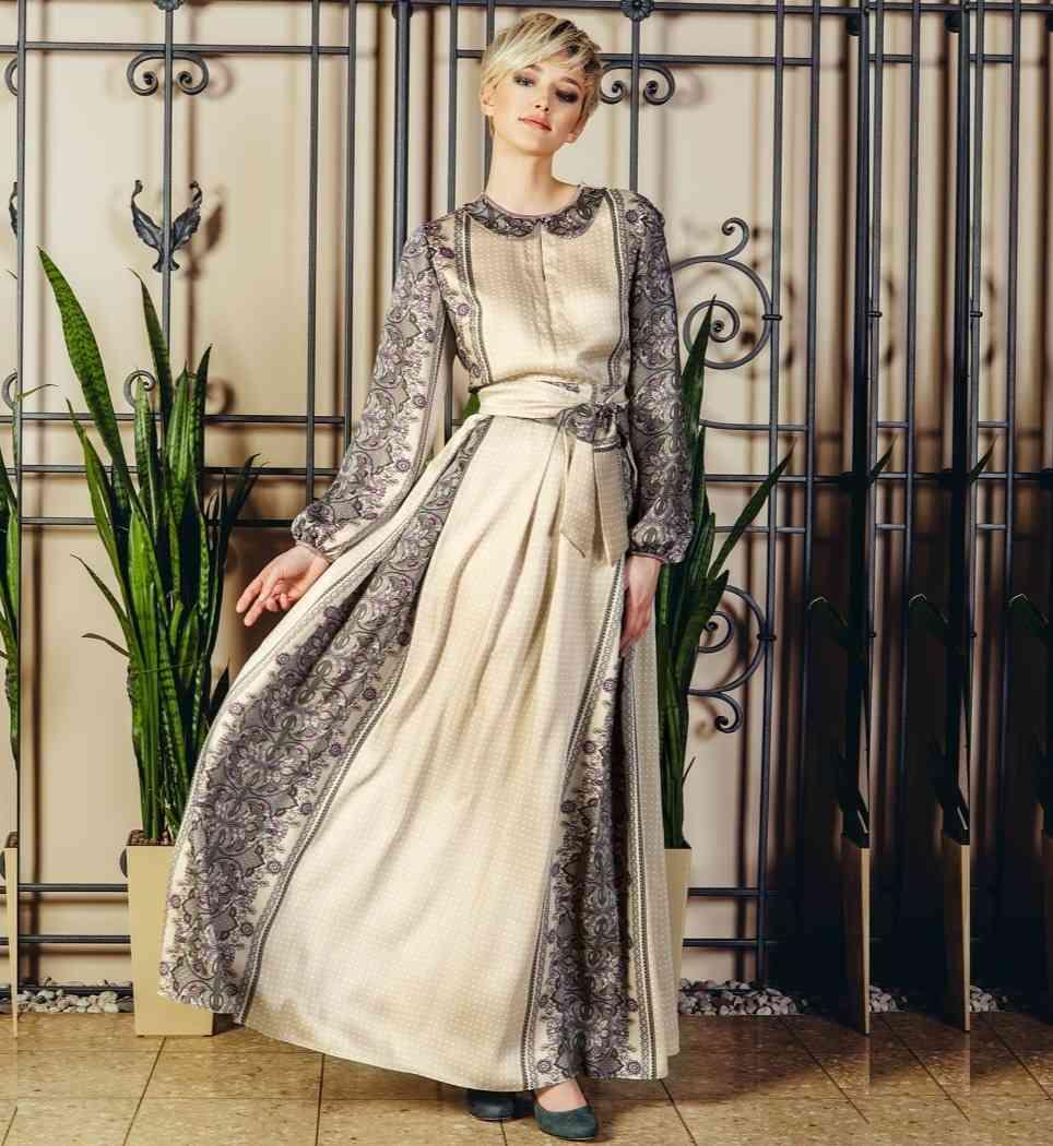 Шикарное длинное платье Flaibach 018W6