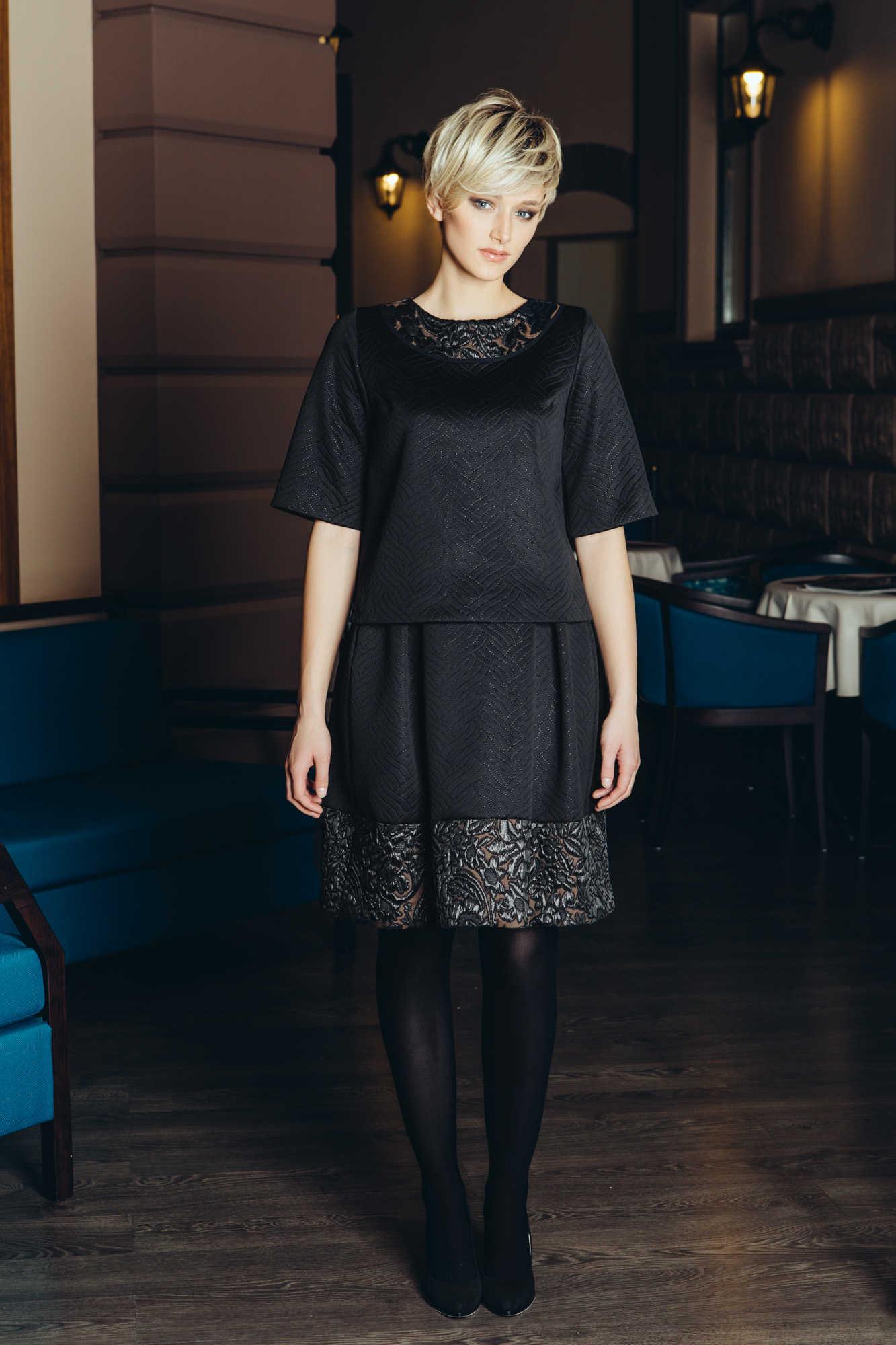 Наряд из блузы и юбки Flaibach 074/075W6