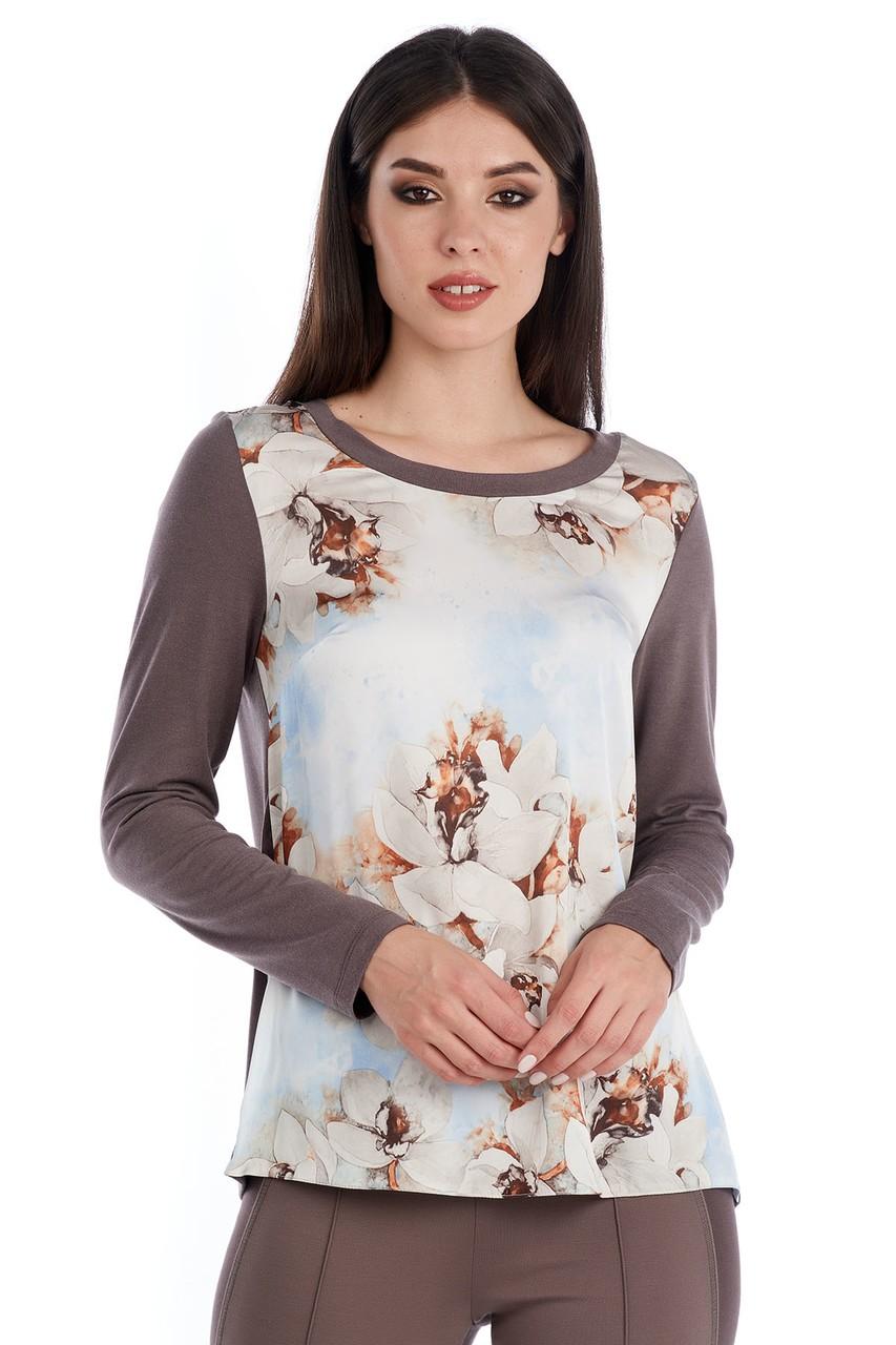Женская смазливая  блузка LalaStyle W02086
