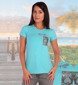 Красивая футболка для девушки