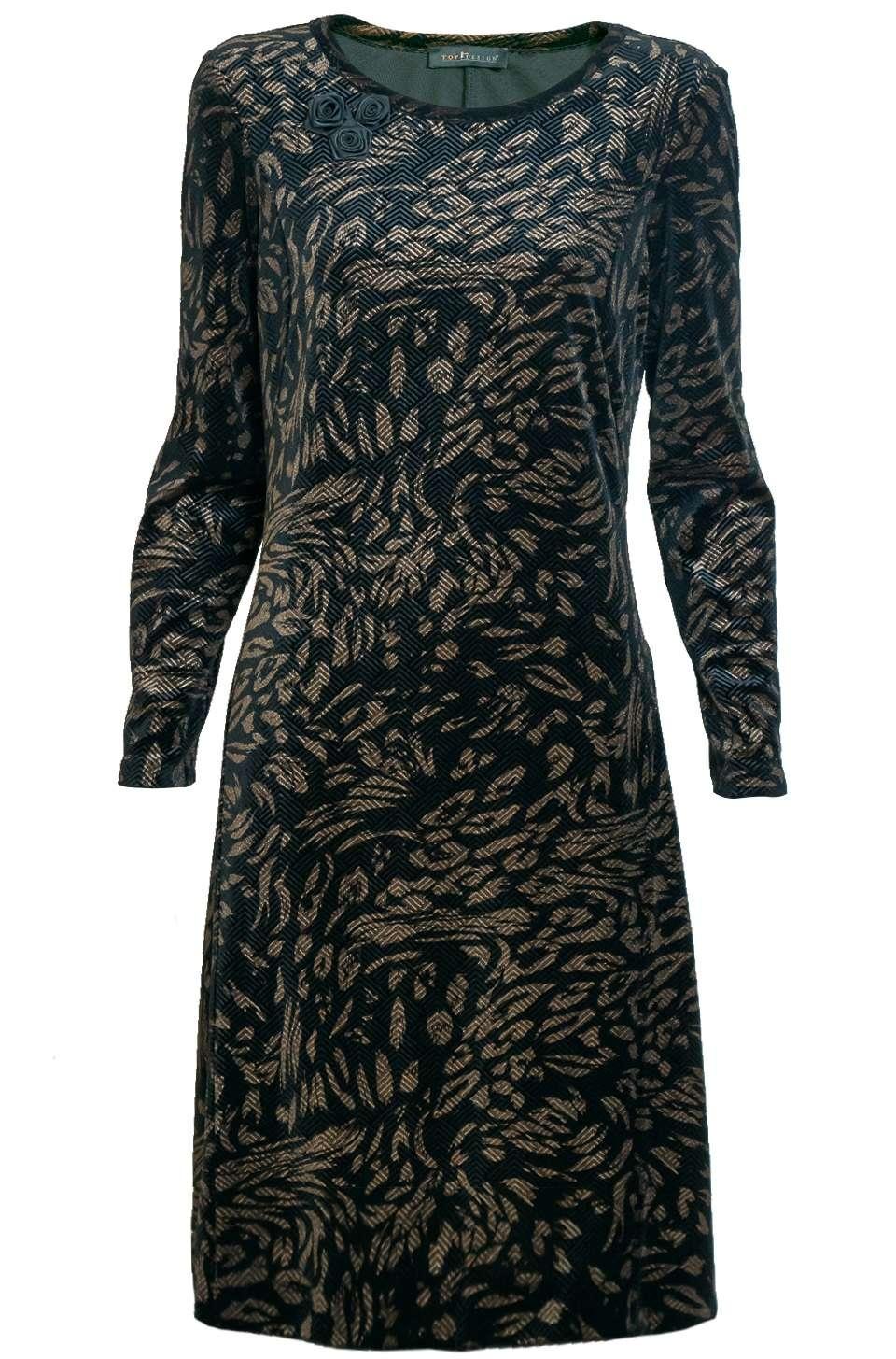 Нарядное платье для женщины TopdDesign NB7 04