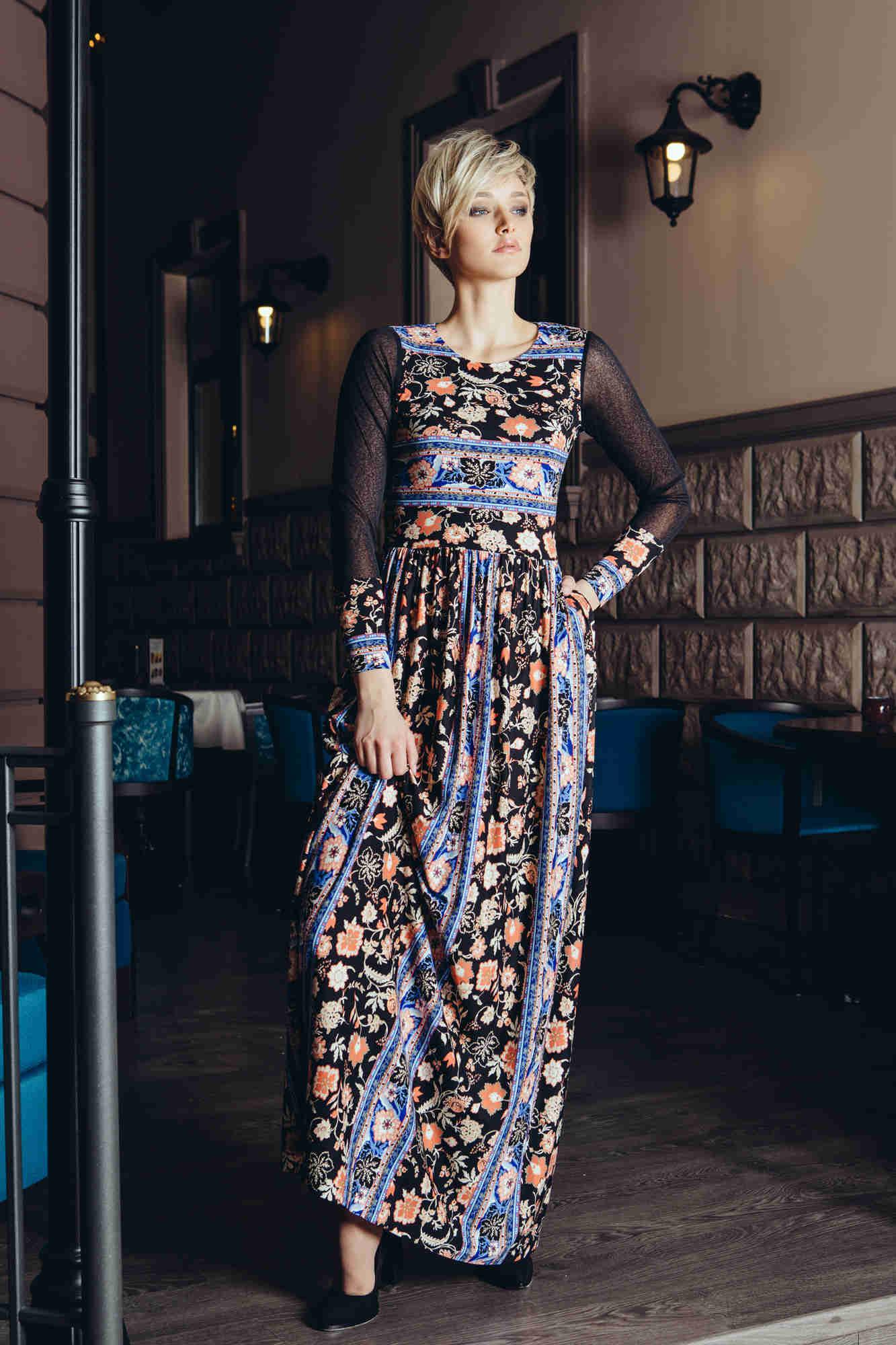Изящное платье в пол Flaibach 070W6