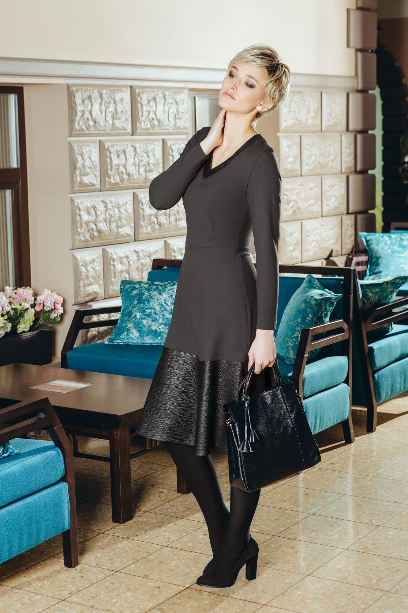 Стильное деловое платье Flaibach 031W6