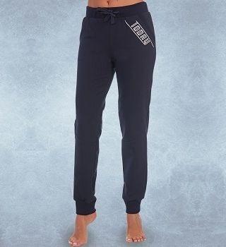 Стильные брюки темно-синего цвета