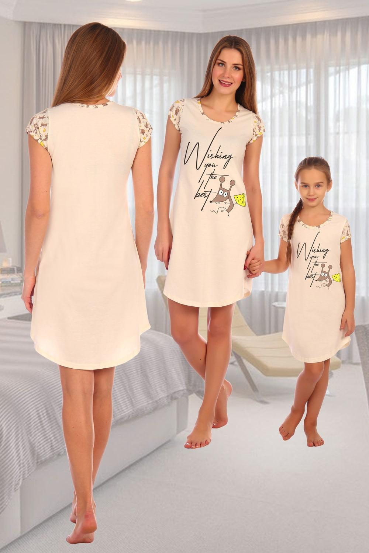 Хлопковая женская сорочка