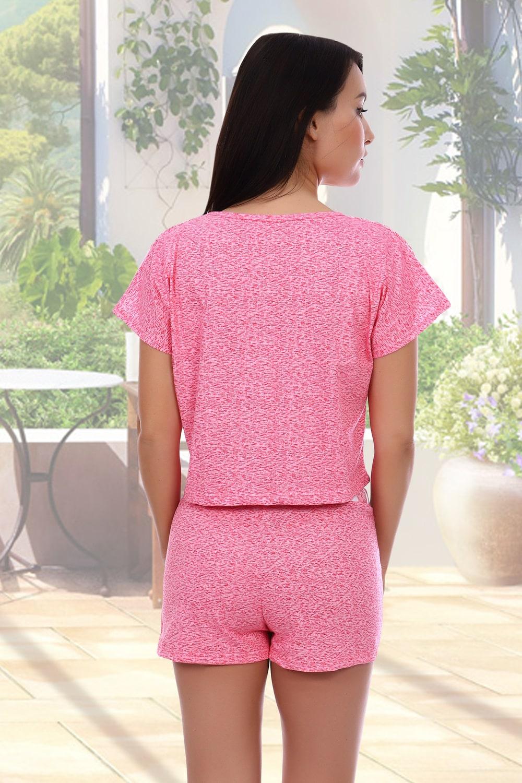 Хлопковая пижама с шортами