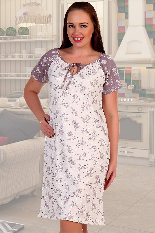 Ночная рубашка женская из хлопка