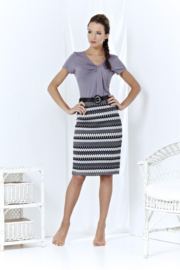 Ассимитричное летнее платье Top Desing А3 169