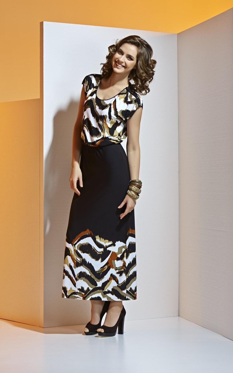 Длинное платье на лето А4 049