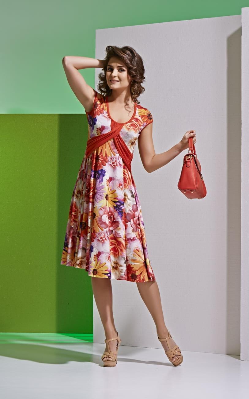 Модное летнее платье А4 017