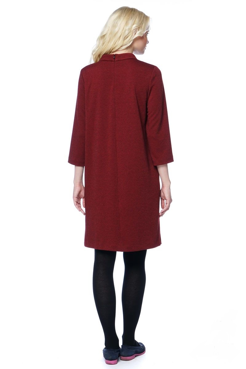 Элегантное платье свободного силуэта LalaStyle 1297-117