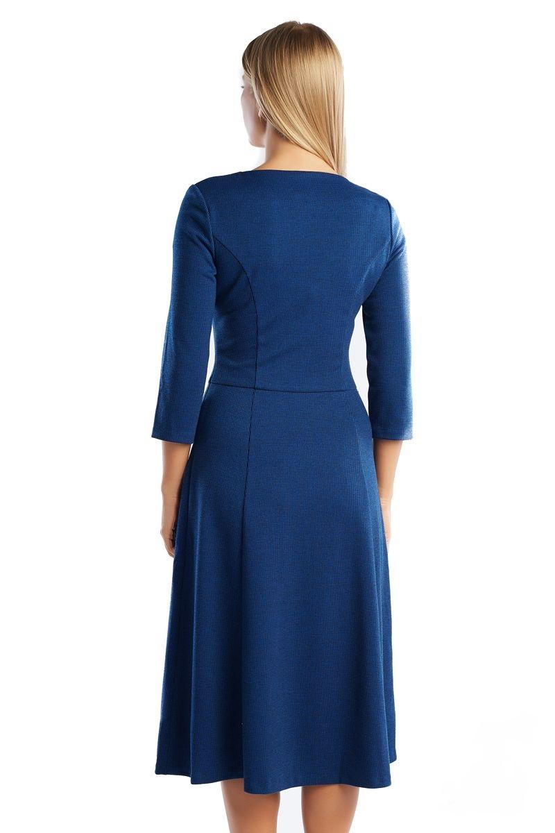 Платье с расклешенной юбкой Lala Style 1296-118