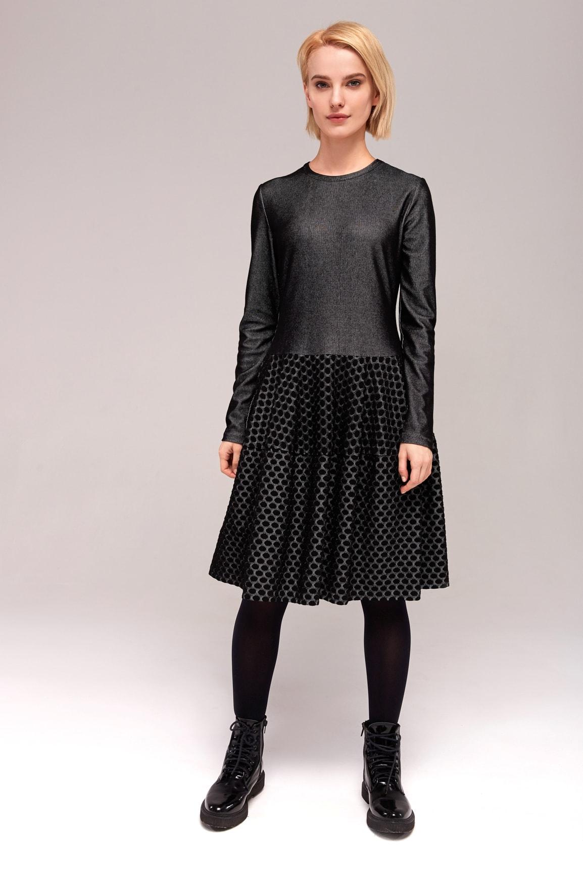 Красивое и очень стильное платье Top Desing B7 055