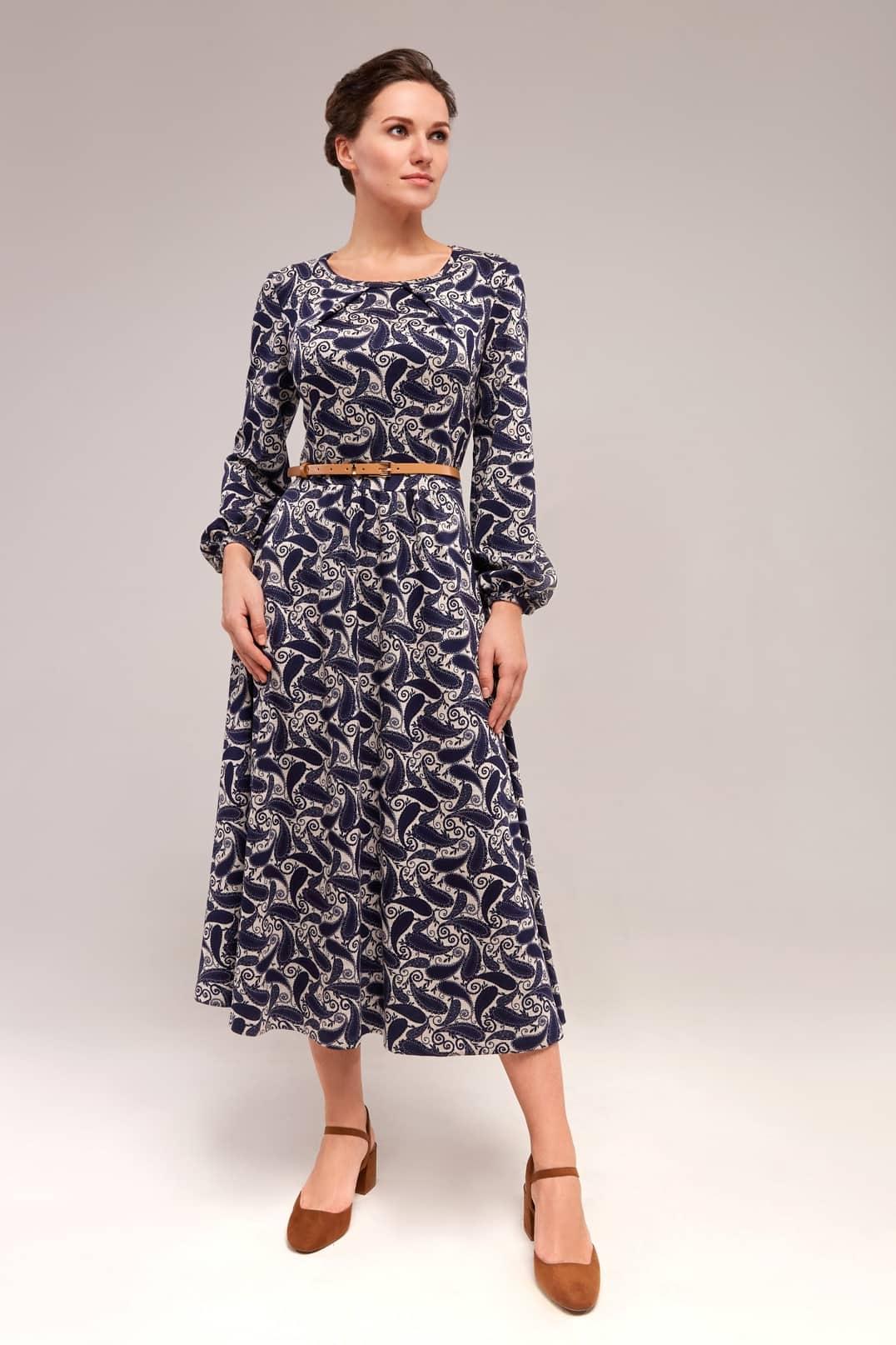 Стильное платье TopDesign B7 152