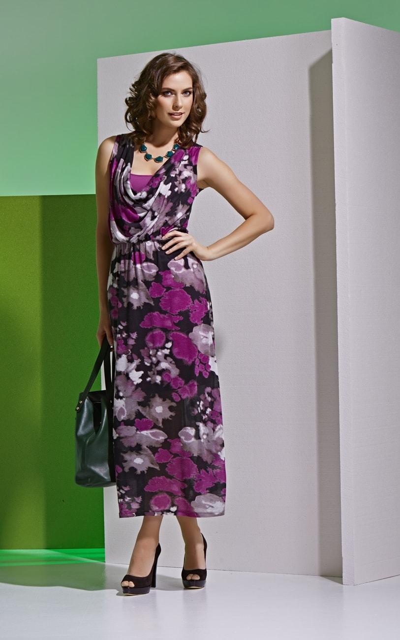 Красивое летнее платье А4 008