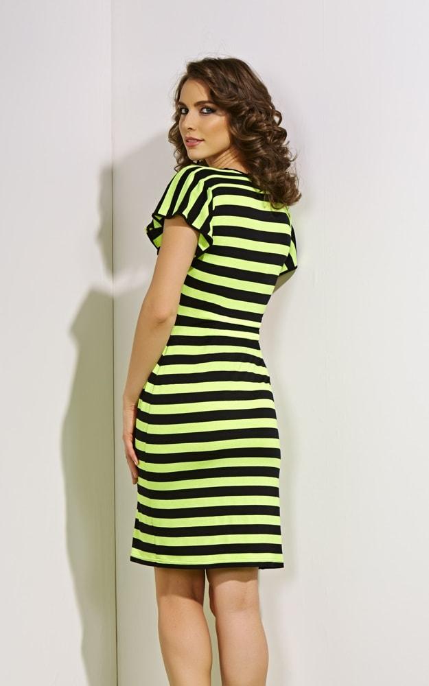Платье из крапивы (рами) Top Design А4 005
