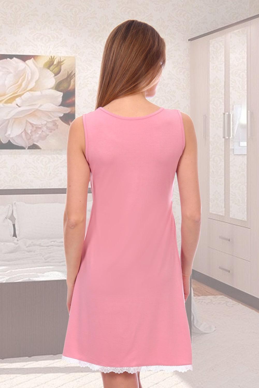 Розовая ночная сорочка