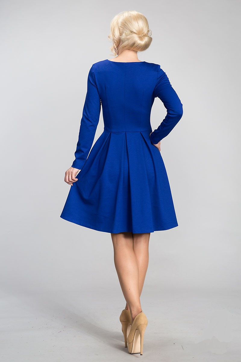 Платье с длинным рукавом Lala Style 911-26
