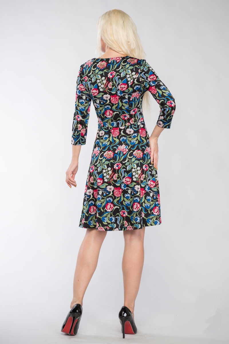 Женственное платье Lala Style 714-48