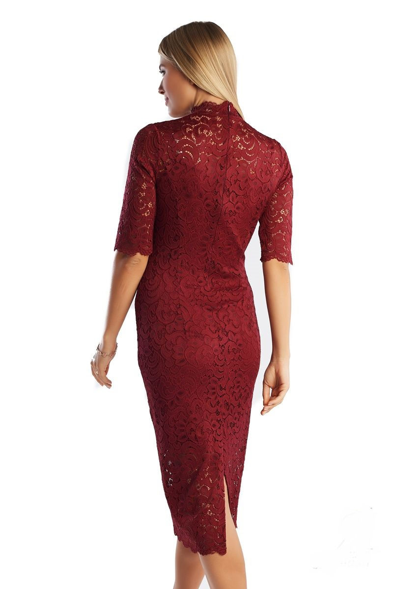 Платье из гипюра LalaStyle 1362