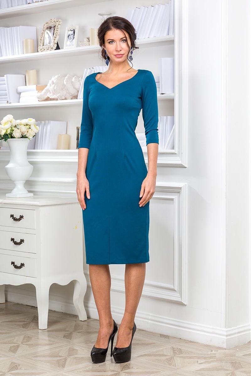Платье средней длины Lala Style 1133-75