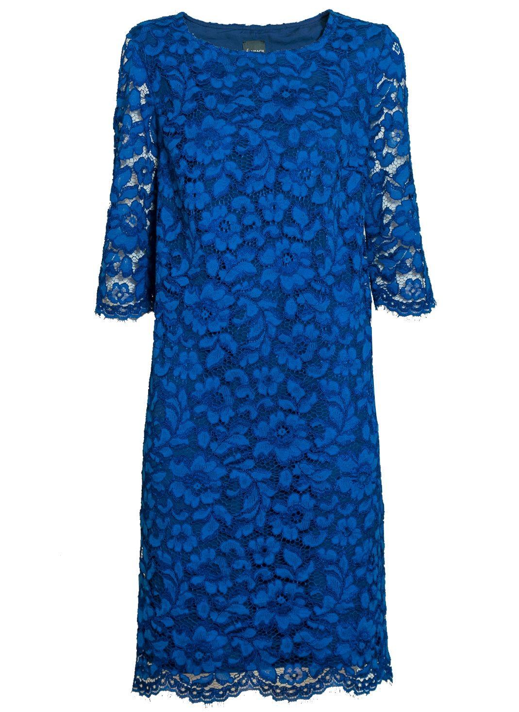 Синие вечернее платье TopDesign NB7 09