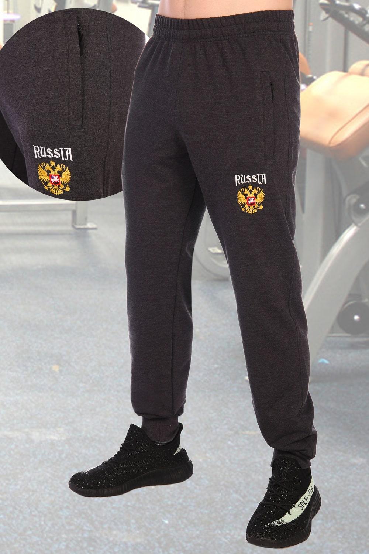 Спортивные брюки с гербом