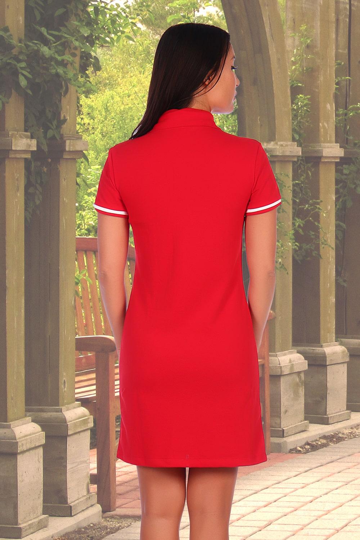 Стильное хлопковое платье