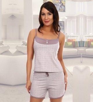 Пижамный набор  с шортами
