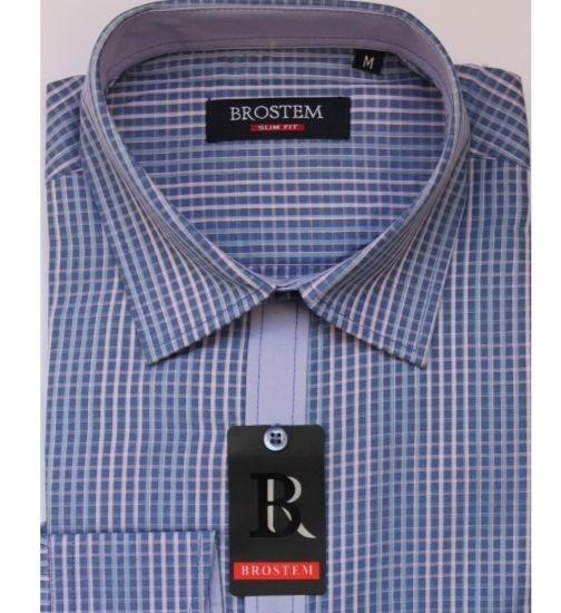 Мужская рубашка в клетку Brostem 3007-2