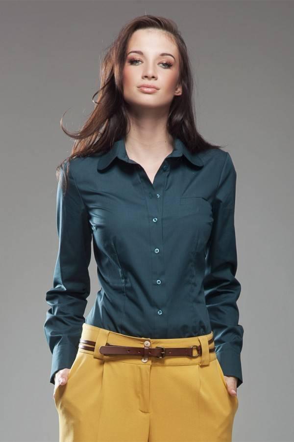 Женская рубашка с длинным рукавом Nife K35