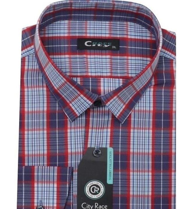 Модная мужская рубашка City Race CK-2