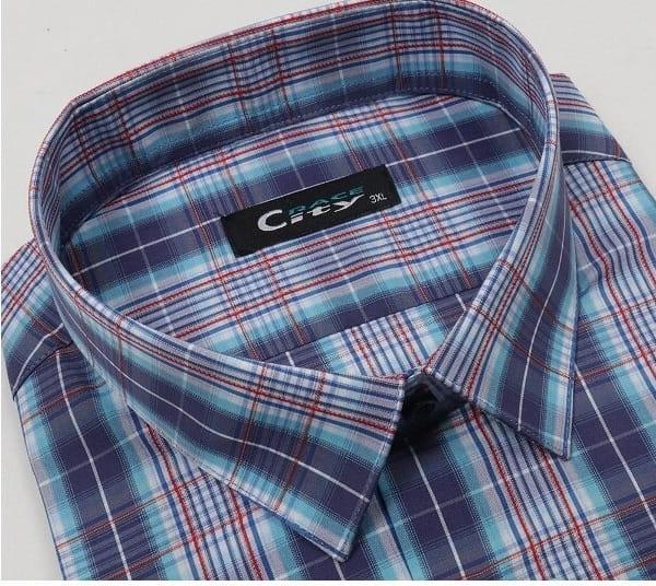 Клетчатая мужская рубашка Cyty Race CK-3