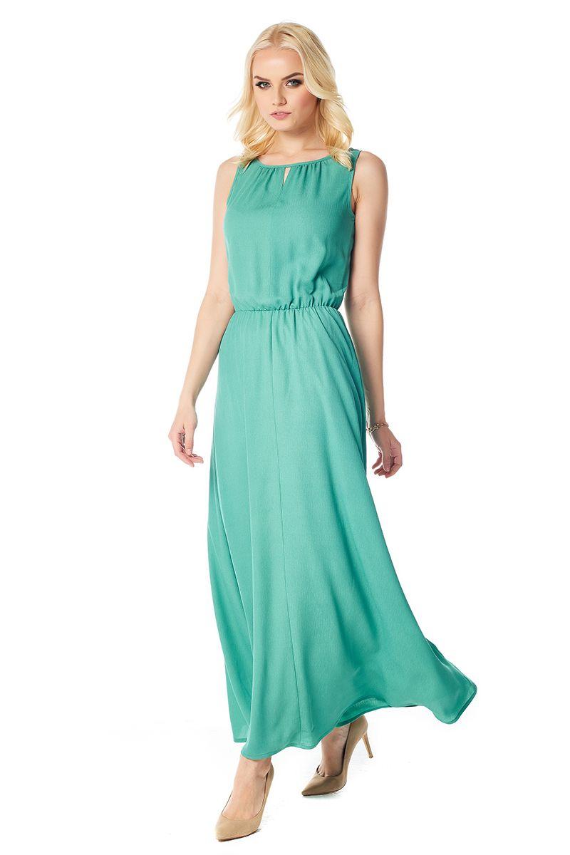Длинное летние платье Lala Style 1386