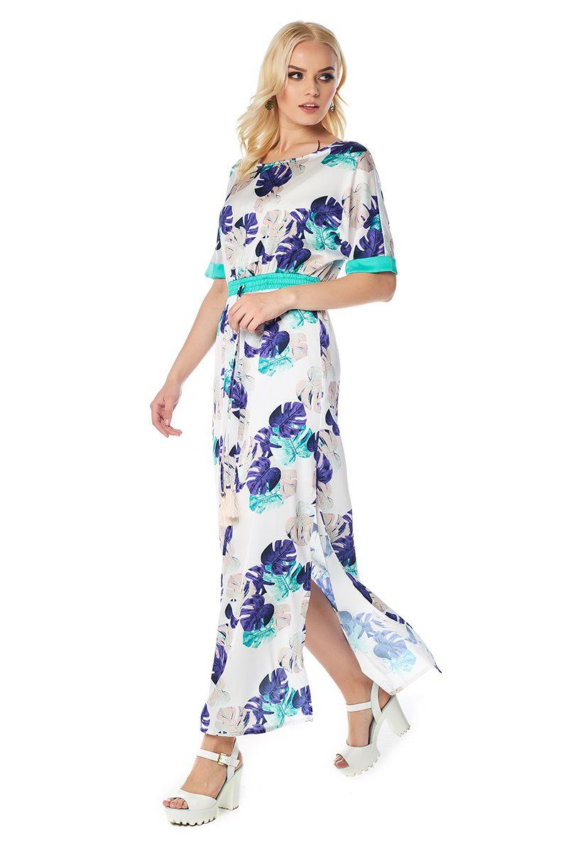 Летние длинное платье LalaStyle 1415-177