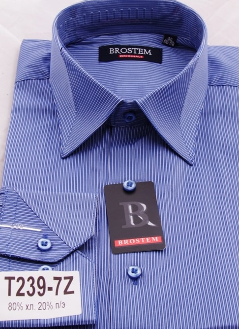 Мужская сорочка с длинным рукавом Brostem T239-7Z