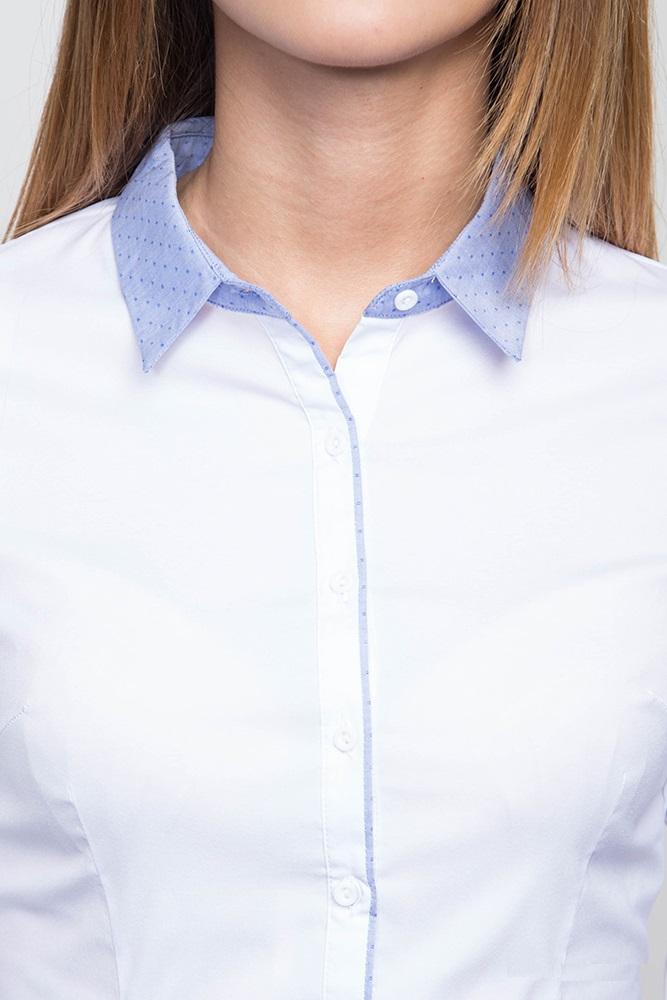 Белая блузка длинный рукав Marimay 905-1520