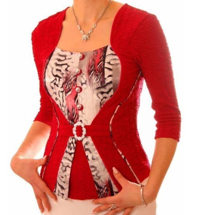 Нарядная женская блузка The Distinctive 113
