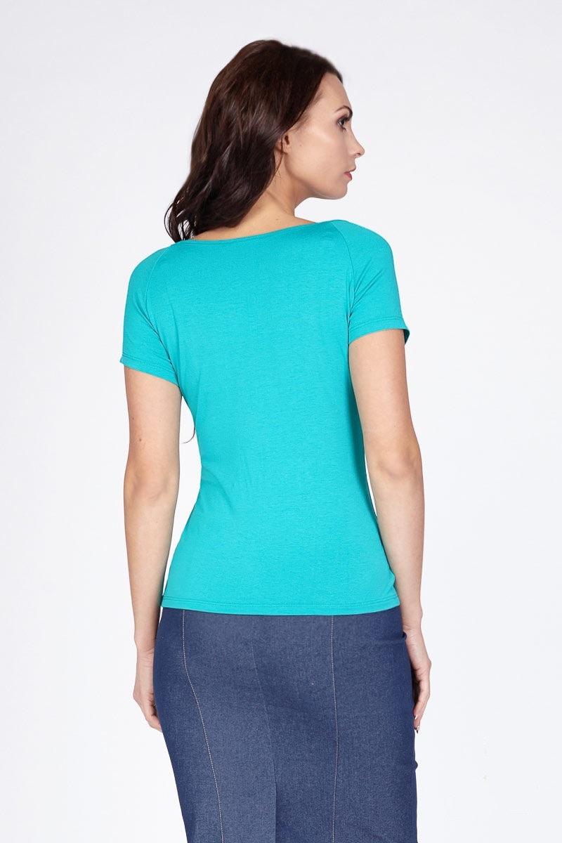Изумрудная блузка LalaStyle 1184