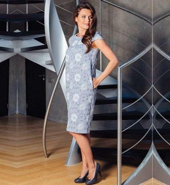 Красивое платье женское Top Design РА7 16