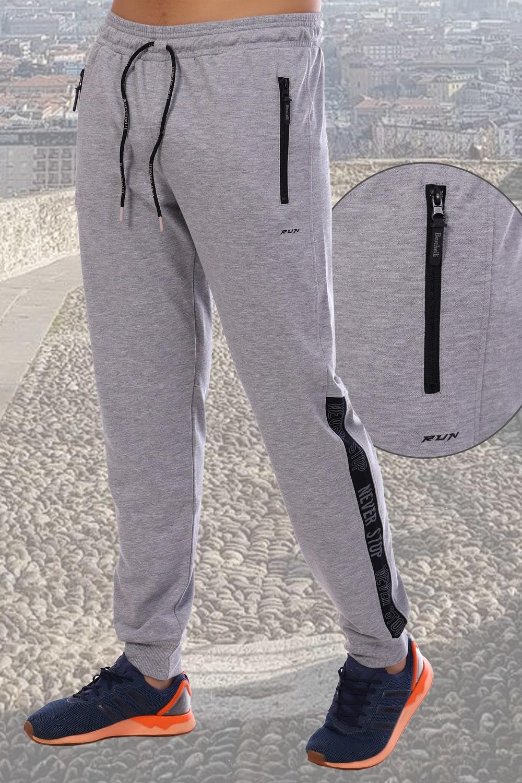 Мужские брюки Berchelli цвета серый меланж