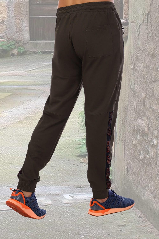 Спортивные брюки цвета хаки Berchelli