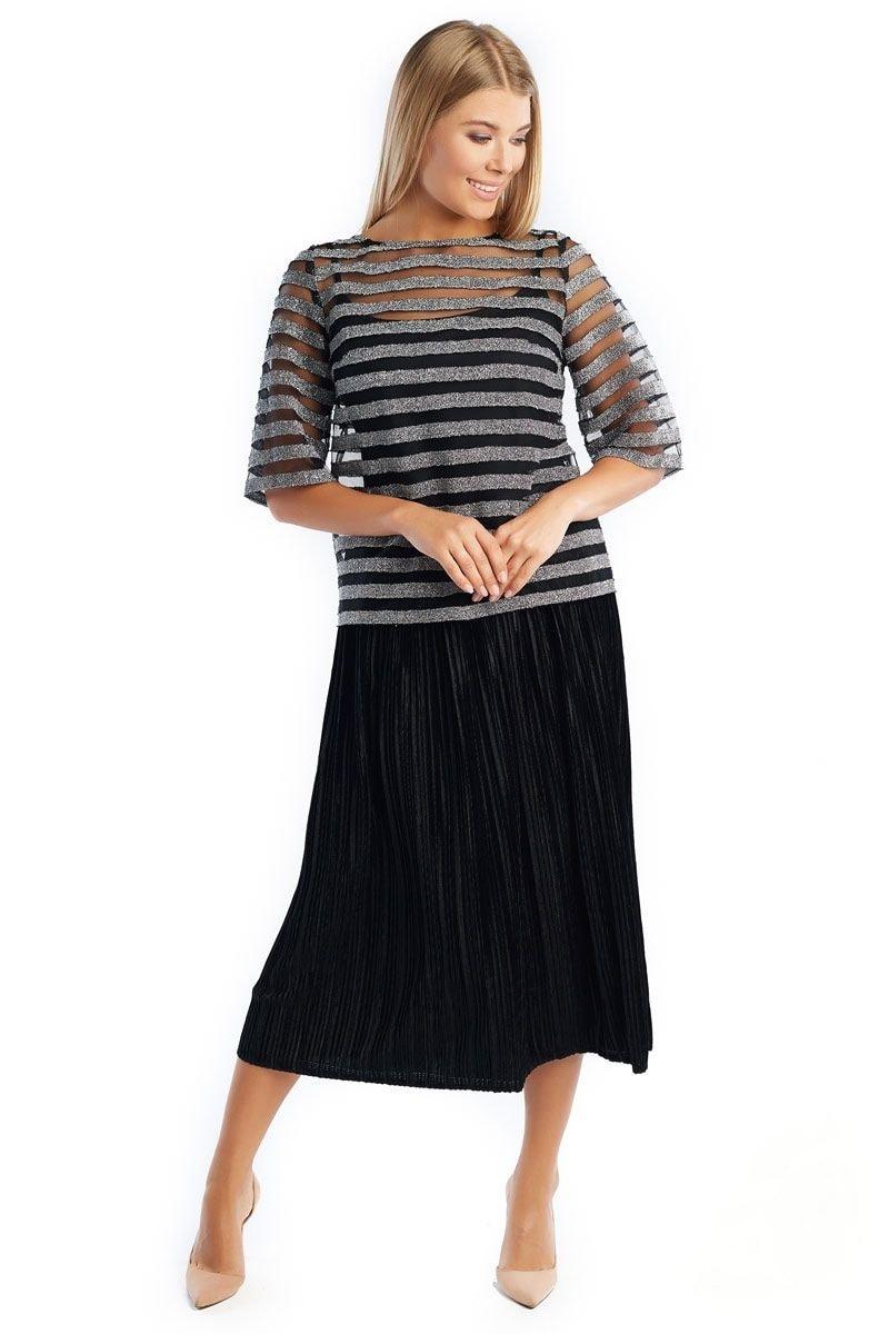 Нарядная блузка Lala Style 1365