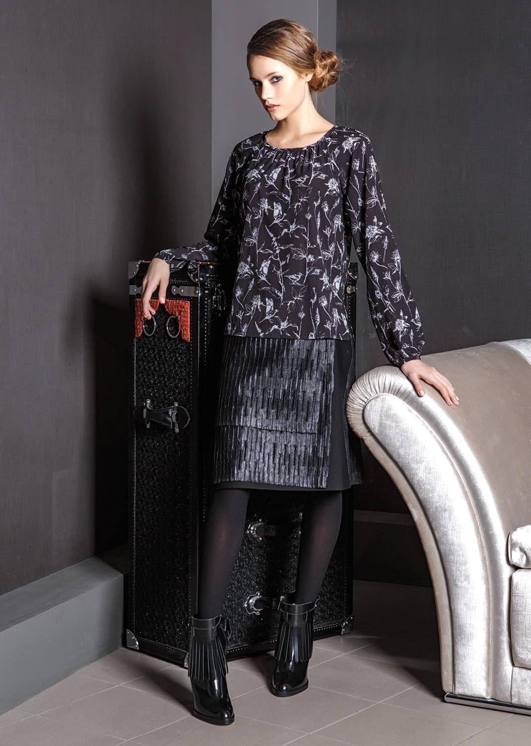 Элегантная блуза Flaibach 163W7