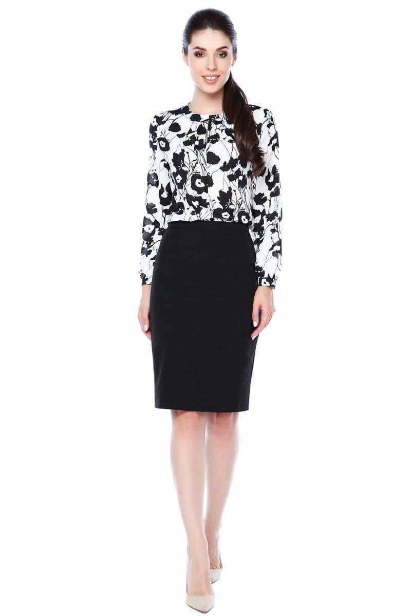 Красивая женская блузка LalaStyle 1314-147