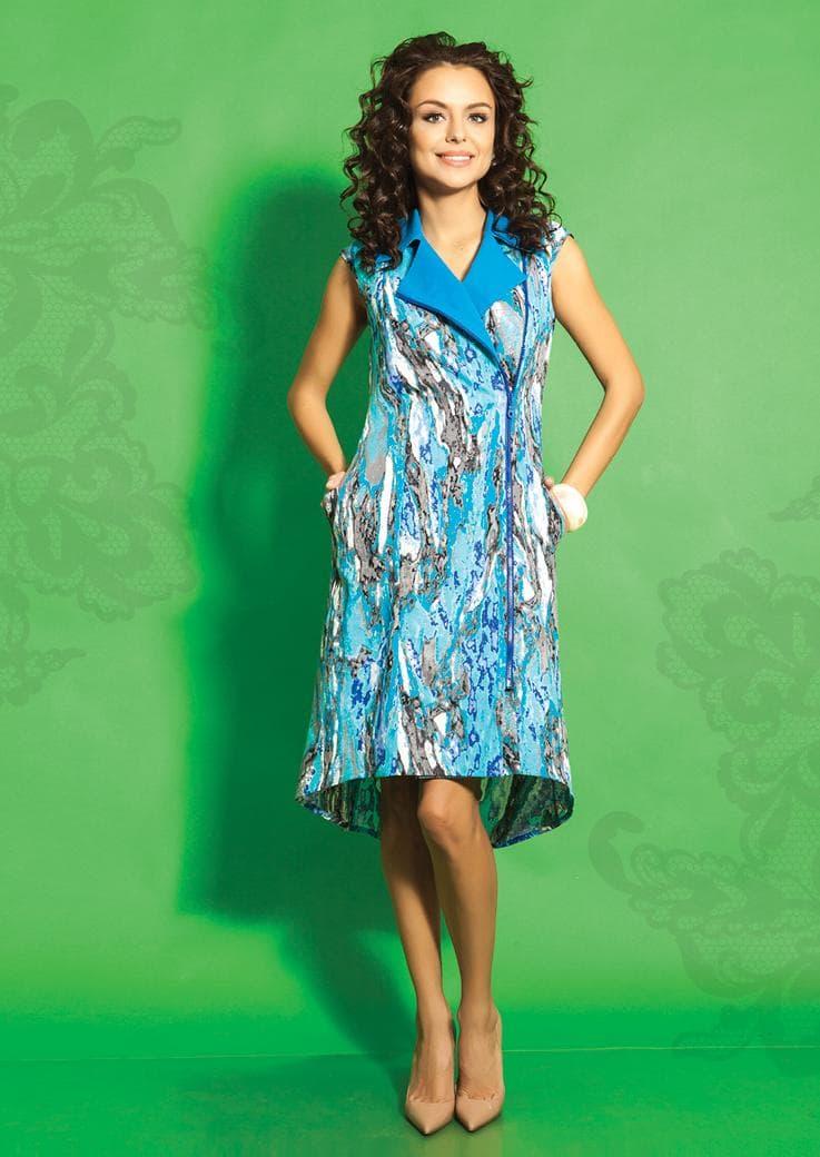 Стильное платье из хлопка TopDesign А5 42