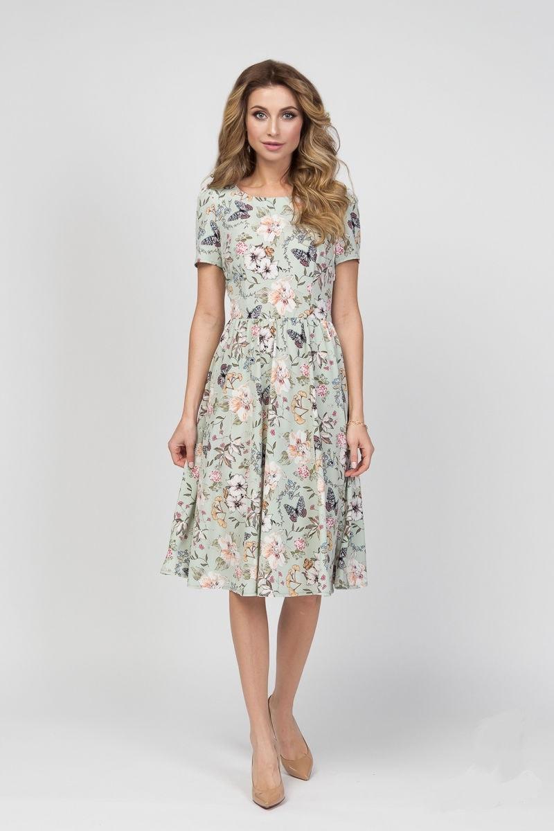 женское платье на лето