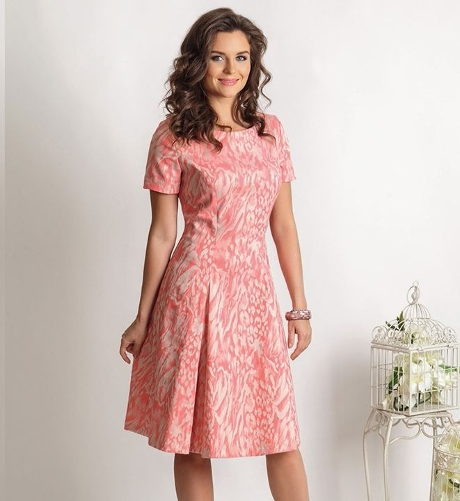 Летние хлопковое платье TopDesign РА6 02