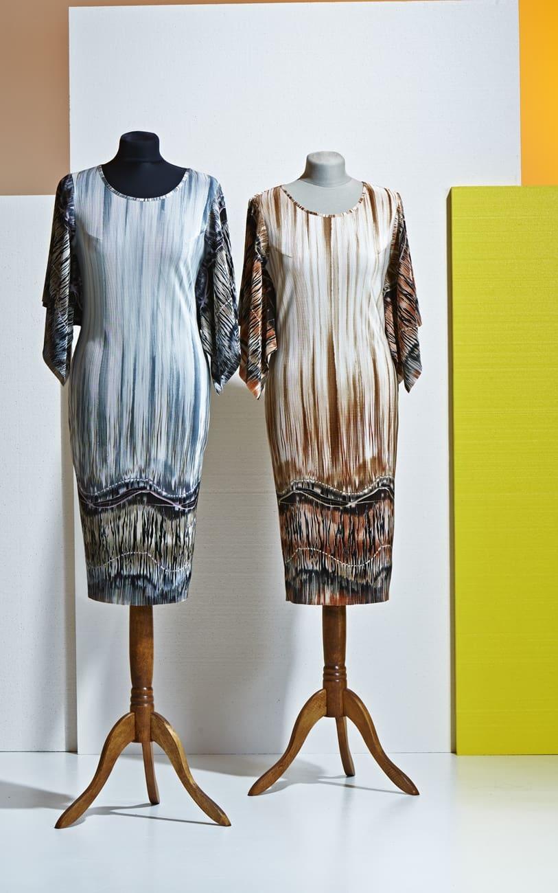 Платье с мелким плиссе Top Desing А4 026